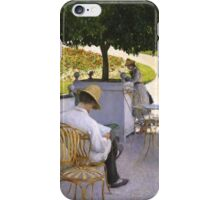 Gustave Caillebotte - The Orange Trees 1878 iPhone Case/Skin