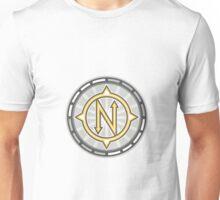 True North Compass Retro Unisex T-Shirt