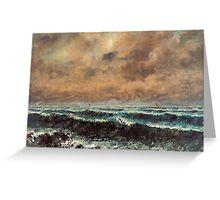 Gustave Courbet - Autumn Sea 1867 , Seascape Greeting Card
