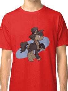 4th doctor whooves Classic T-Shirt