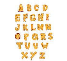 ABC O Pizza Photographic Print