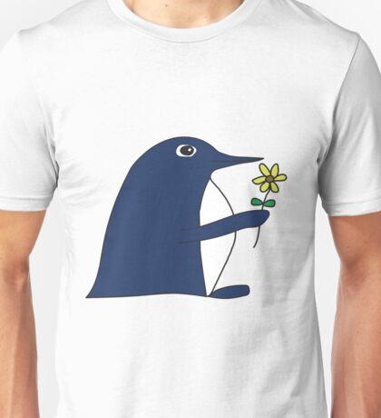 Flower Power Penguin Unisex T-Shirt