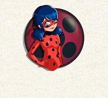 Ladybug Zipped Hoodie