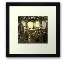 The commander deck Framed Print