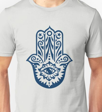 Hamsa - Hand of Fatima, protection amulet, symbol of strength and happiness Unisex T-Shirt