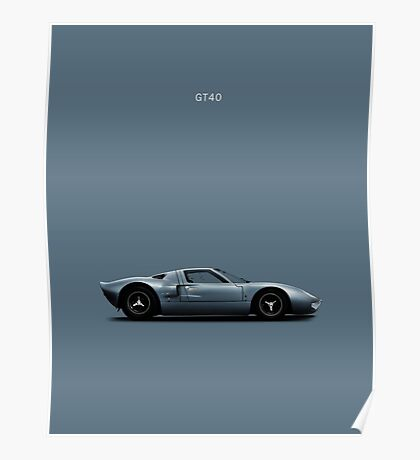 The GT40 Poster