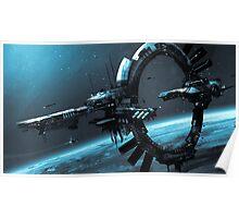 Orbital Station Poster