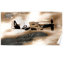 P40 Mustang 2A Poster