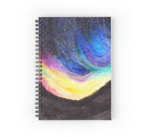 Night sky impressions Spiral Notebook