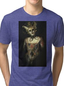 Dark Carnival, vintage mask fantasy Tri-blend T-Shirt