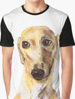 GREYHOUND LOVE Graphic T-Shirt