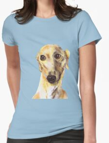 GREYHOUND LOVE Womens Fitted T-Shirt
