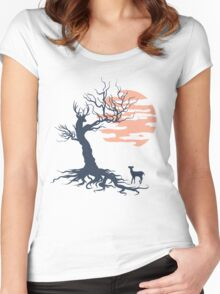 Family tree Women's Fitted Scoop T-Shirt