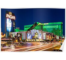 Las Vegas Lights - MGM Grand Poster