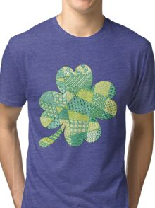 Four-Leaf Clover  Tri-blend T-Shirt