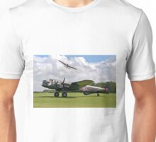 Two Lancasters at East Kirkby Unisex T-Shirt