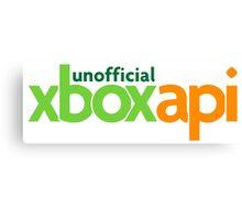 XboxAPI Logo Canvas Print