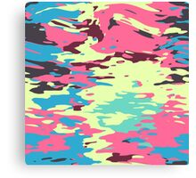 Chaos texture Canvas Print