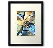 Abstract Macro Structure Framed Print