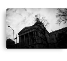 Capital Ave Canvas Print