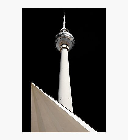 Fernsehturm, Television Tower, Berlin, Germany Photographic Print