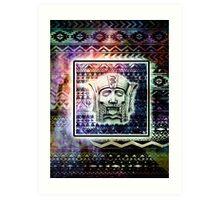 Aztec Galaxy Art Print