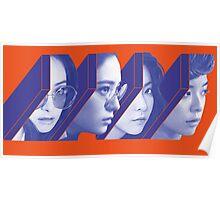 f(x) 4 Walls Kpop Poster