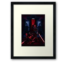 SWTOR - Sith dueling Framed Print