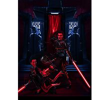 Sith dueling Photographic Print