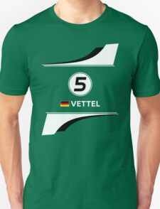 F1 2016 - #5 Vettel Unisex T-Shirt