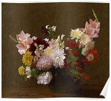 Henri Fantin-Latour - Flowers Poster