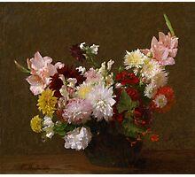 Henri Fantin-Latour - Flowers Photographic Print