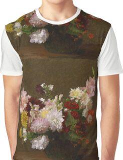 Henri Fantin-Latour - Flowers Graphic T-Shirt