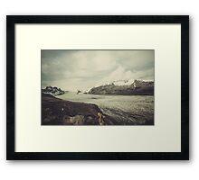 Skaftafellsjökull Framed Print