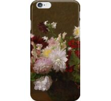 Henri Fantin-Latour - Flowers iPhone Case/Skin