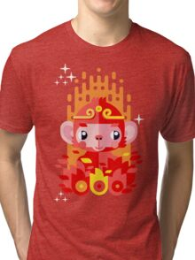 Fire Monkey Year Tri-blend T-Shirt