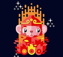 Fire Monkey Year by chobopop