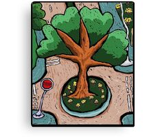 Roundabout Sunday Morning Canvas Print