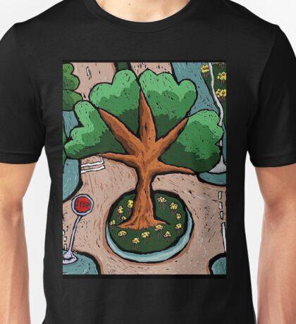 Roundabout Sunday Morning Unisex T-Shirt