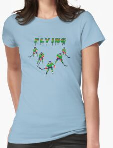 Mighty Ducks Flying ''V'' Womens Fitted T-Shirt
