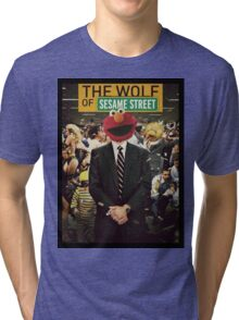 The Wolf Of Wall street-Parody Tri-blend T-Shirt