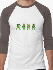 Mutant Teenage Ninja Turtles Men's Baseball ¾ T-Shirt