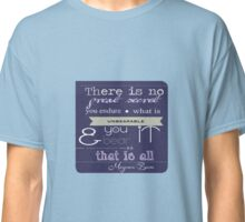Quote Magnus Bane Classic T-Shirt