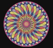 Geometric Grafic Color Cirkle  Kids Tee