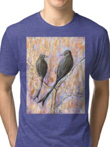 Black Drongos Tri-blend T-Shirt