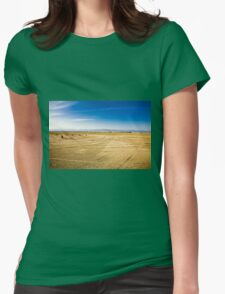 Salt desert Womens Fitted T-Shirt