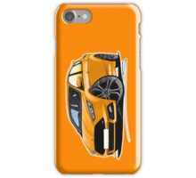 Ford Focus (Mk3 Facelift) ST Orange iPhone Case/Skin