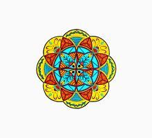 Mellow Mood Flower Mandala Unisex T-Shirt