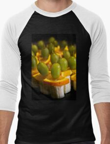A Fruitful Army - Watercolor Men's Baseball ¾ T-Shirt
