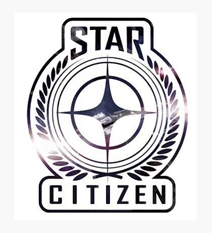 Star Citizen Logo Photographic Print